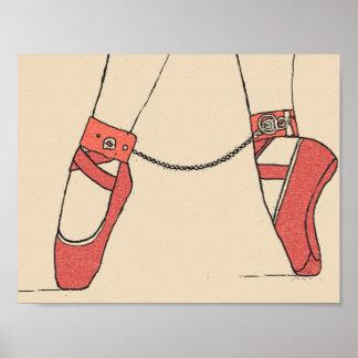Baile para mí el amo de la bailarina y la fantasía póster