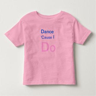 Baile porque hago la camiseta de los niños