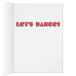 Bailemos la tarjeta del frailecillo
