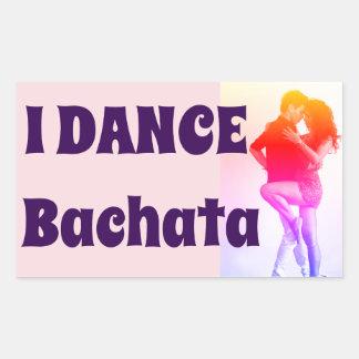 ¡Bailo Bachata! , Salsa, latín, pegatina de la