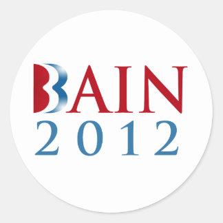 BAIN 2012 png Pegatina