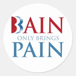 BAIN TRAE SOLAMENTE PAIN png Etiqueta