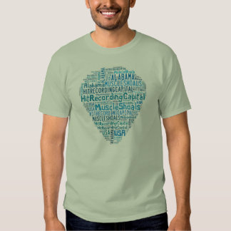 Bajíos del músculo, camiseta de Alabama