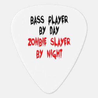 Bajista del asesino del zombi uñeta de guitarra