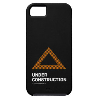 Bajo construcción - caso del iPhone 5 Funda Para iPhone 5 Tough
