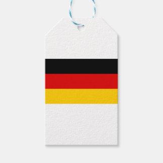 ¡Bajo costo! Bandera alemana Etiquetas Para Regalos