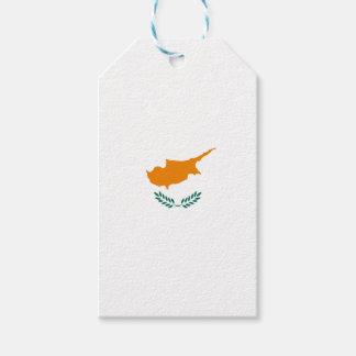 ¡Bajo costo! Bandera de Chipre Etiquetas Para Regalos