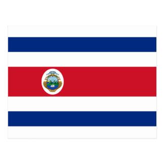 ¡Bajo costo! Bandera de Costa Rica Postal