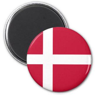 ¡Bajo costo! Bandera de Dinamarca Imán
