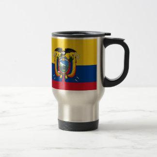 ¡Bajo costo! Bandera de Ecuador Taza De Viaje