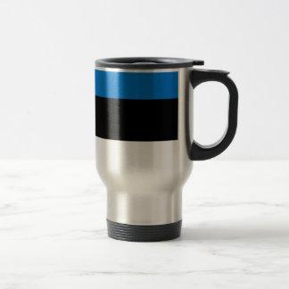 ¡Bajo costo! Bandera de Estonia Taza De Viaje