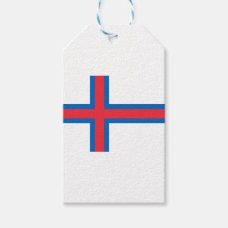 ¡Bajo costo! Bandera de Faroe Island Etiquetas Para Regalos