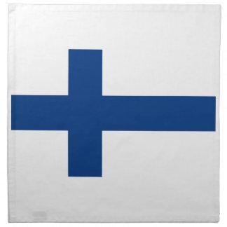 ¡Bajo costo! Bandera de Finlandia Servilleta De Tela