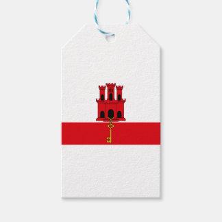 ¡Bajo costo! Bandera de Gibraltar Etiquetas Para Regalos