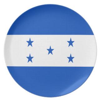 ¡Bajo costo! Bandera de Honduras Plato
