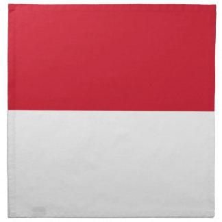¡Bajo costo! Bandera de Indonesia Servilleta De Tela