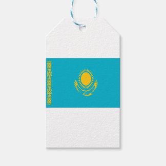 ¡Bajo costo! Bandera de Kazajistán Etiquetas Para Regalos