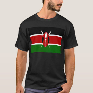 ¡Bajo costo! Bandera de Kenia Camiseta