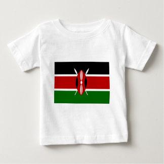 ¡Bajo costo! Bandera de Kenia Camiseta De Bebé