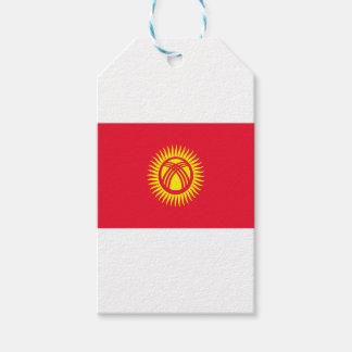 ¡Bajo costo! Bandera de Kirguistán Etiquetas Para Regalos