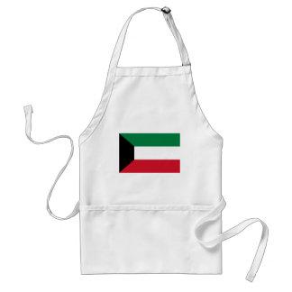 ¡Bajo costo! Bandera de Kuwait Delantal