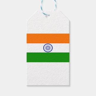 ¡Bajo costo! Bandera de la India Etiquetas Para Regalos