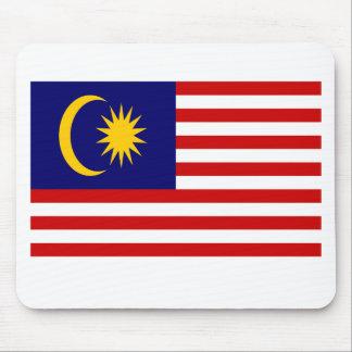 ¡Bajo costo! Bandera de Malasia Alfombrilla De Ratón