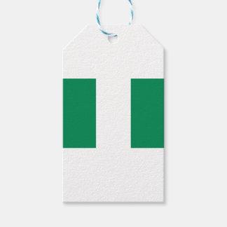 ¡Bajo costo! Bandera de Nigeria Etiquetas Para Regalos