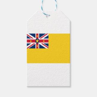 ¡Bajo costo! Bandera de Niue Etiquetas Para Regalos