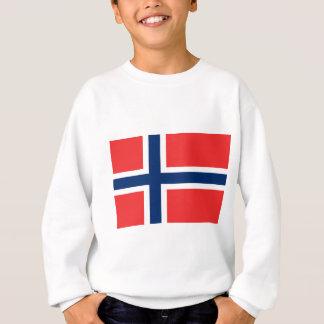 ¡Bajo costo! Bandera de Noruega Sudadera