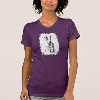 Bajo de Stickman - el T de la mujer Camiseta