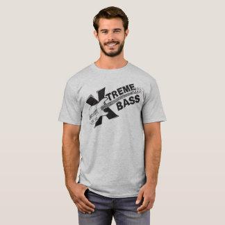 Bajo de Xtreme - camiseta de la guitarra