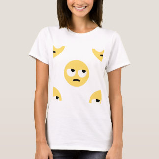 balanceo del ojo del emoji camiseta