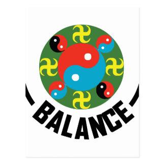 Balanza de Yin Yang Postal