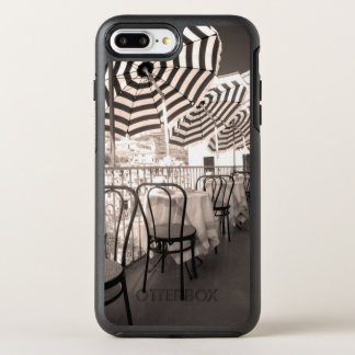 Balcón pintoresco del restaurante, Italia Funda OtterBox Symmetry Para iPhone 8 Plus/7 Plus