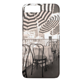 Balcón pintoresco del restaurante, Italia Funda Para iPhone 8 Plus/7 Plus