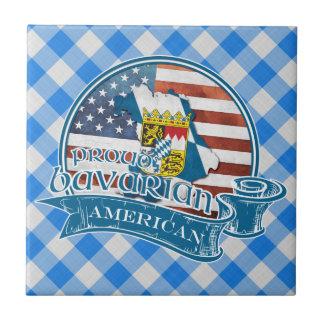 Baldosa cerámica americana bávara orgullosa