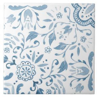 Baldosa cerámica del modelo azul maravilloso del