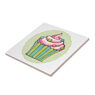 Baldosa cerámica rosada manchada de las magdalenas azulejo cuadrado pequeño
