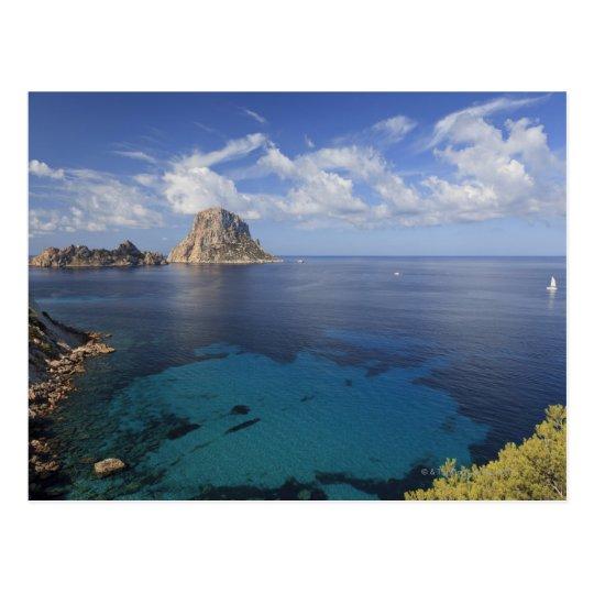 Balearic island ibiza espa a postal zazzle - Codigo postal ibiza ...