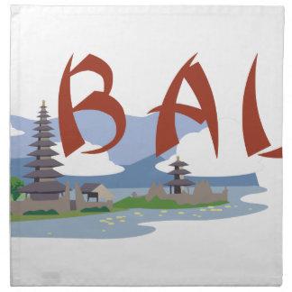 Bali Servilleta De Tela