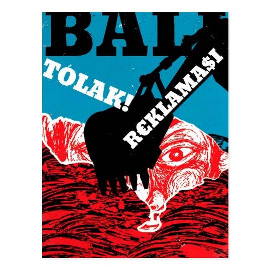 Bali Tolak Reklamasi Postal