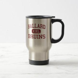 Ballard - Bruins - alto - Louisville Kentucky Taza De Viaje