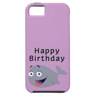 Ballena de una época - feliz cumpleaños iPhone 5 Case-Mate fundas