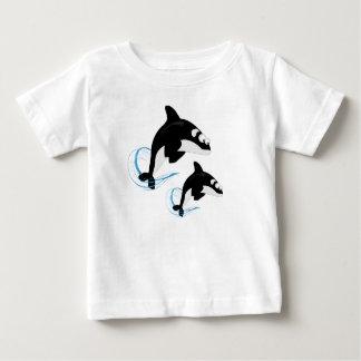 ballenas camiseta de bebé