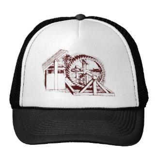 ballesta-rueda de ardilla gorra