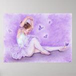 Ballet De Papillon Poster