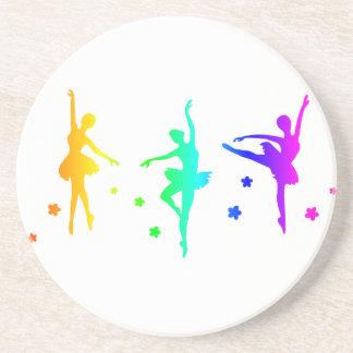 Ballet del arco iris apoyavasos