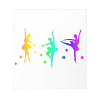 Ballet del arco iris bloc de notas