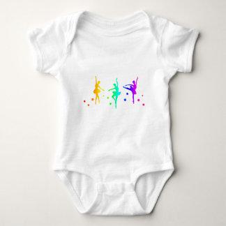 Ballet del arco iris body para bebé